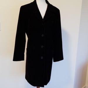 Gallery velveteen coat